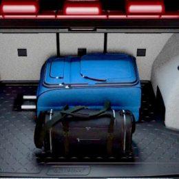 Gumeno korito prtljažnika