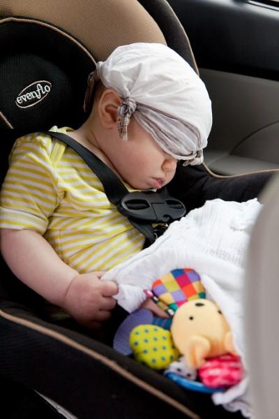 Autosjedala za djecu moraju biti pravilno postavljena